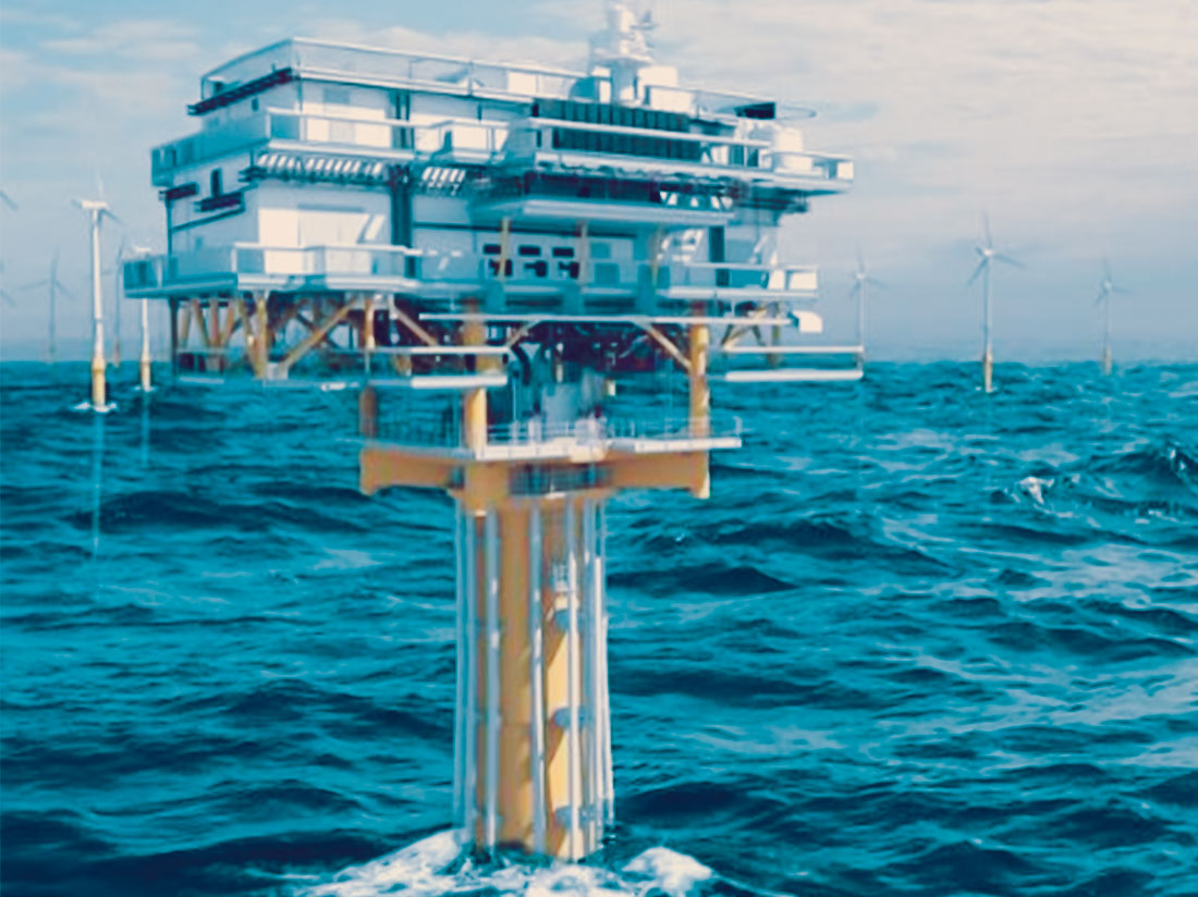 Offshore-Monopile-sub-station